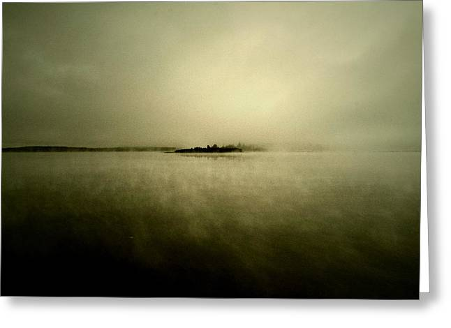 Haunted House Greeting Card Greeting Cards - Island Of Mystic  Greeting Card by Jerry Cordeiro