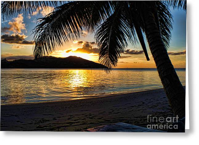 Brian Governale Greeting Cards - Island Sunset Greeting Card by Brian Governale