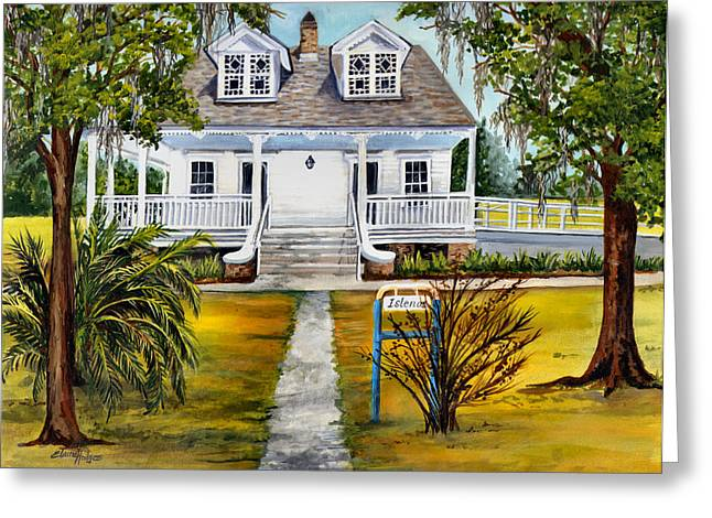 Plantations Greeting Cards - Islenos Museum Greeting Card by Elaine Hodges