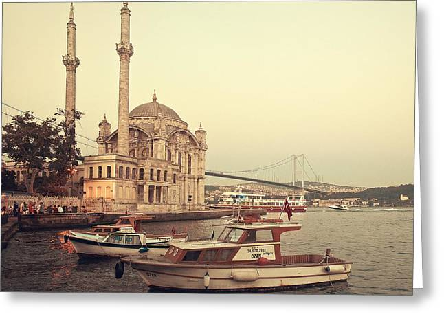 18th Century Greeting Cards - Istanbul Greeting Card by Ilker Goksen