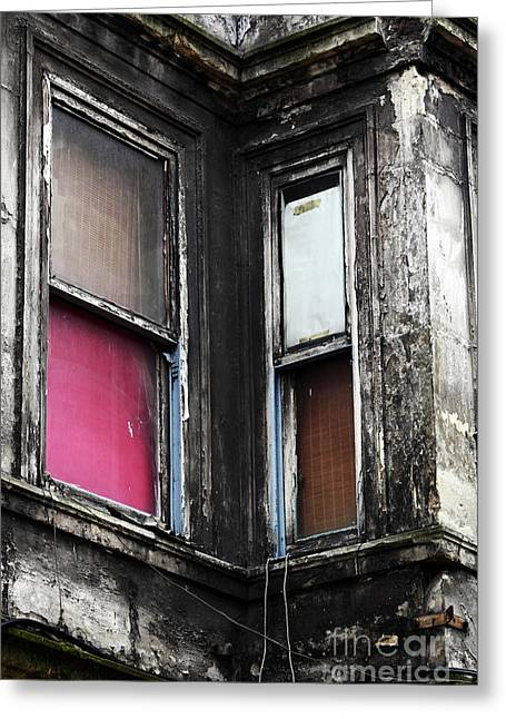 Istanbul Greeting Cards - Istanbul Windows Greeting Card by John Rizzuto