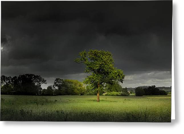 It Can't Rain All The Time Greeting Card by John Chivers