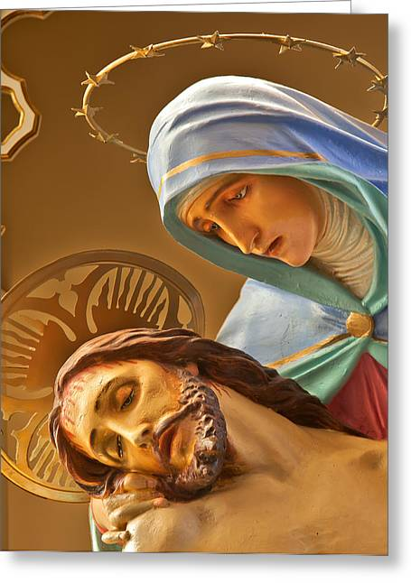 Crucifixtion Greeting Cards - It Is Finished Greeting Card by Charles Fletcher