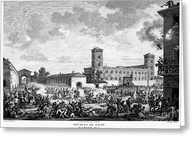 Brigade Greeting Cards - Italian Campaign, 1796 Greeting Card by Granger