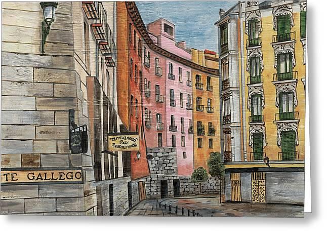 Italian Village 2 Greeting Card by Debbie DeWitt