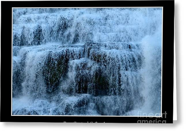 Ithaca Greeting Cards - Ithaca Falls New York closeup Greeting Card by Rose Santuci-Sofranko