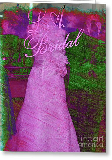 Ball Gown Photographs Greeting Cards - Its a choice you make Greeting Card by Susanne Van Hulst