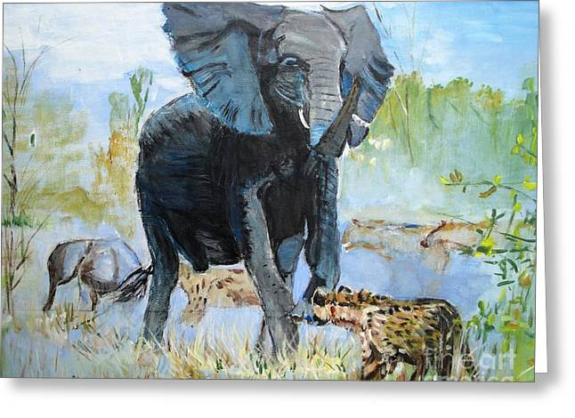 It's a Jungle Greeting Card by Judy Kay