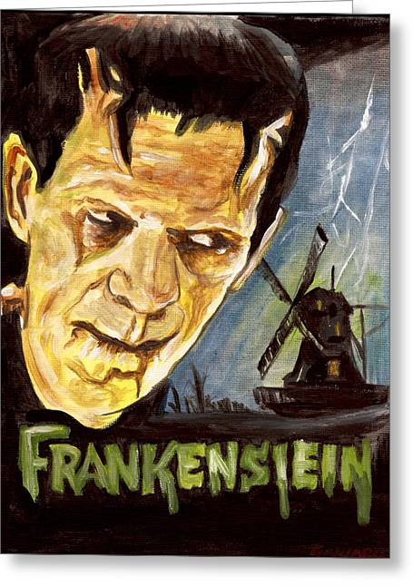 Universal Monsters Greeting Cards - Its Alive Greeting Card by Kathryn Gainard