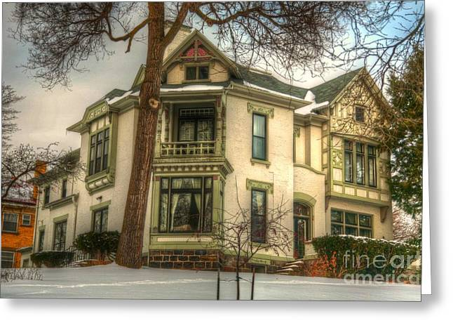 Old House Photographs Greeting Cards - Its History  Greeting Card by Robert Pearson
