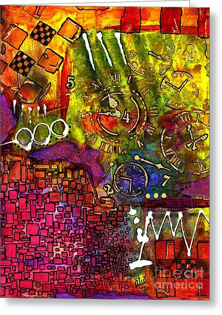 Survivor Art Greeting Cards - Its Time Greeting Card by Angela L Walker