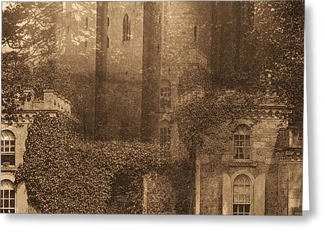 Ivy Grounds Greeting Card by Yanni Theodorou