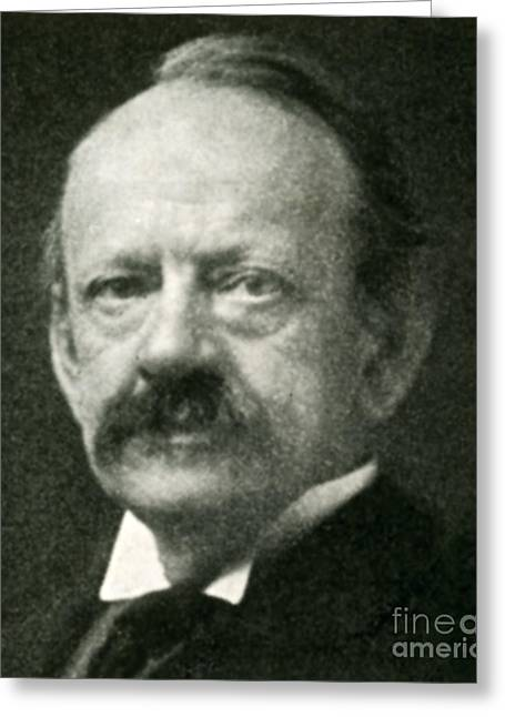 Nobel Recipient Greeting Cards - J. J. Thomson, English Physicist Greeting Card by Science Source