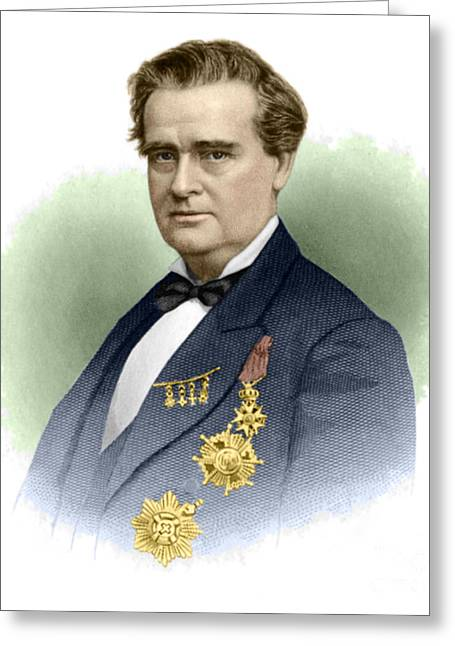 Salve Greeting Cards - J. Marion Sims, Father Of American Greeting Card by Science Source