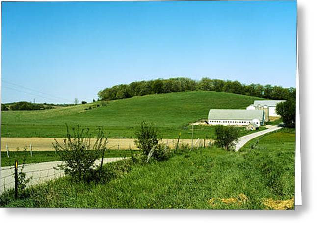 Owner Greeting Cards - J Williams Farm Greeting Card by Jan Faul