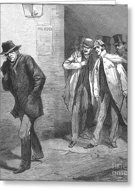 Vigilantes Greeting Cards - Jack The Ripper Greeting Card by Granger
