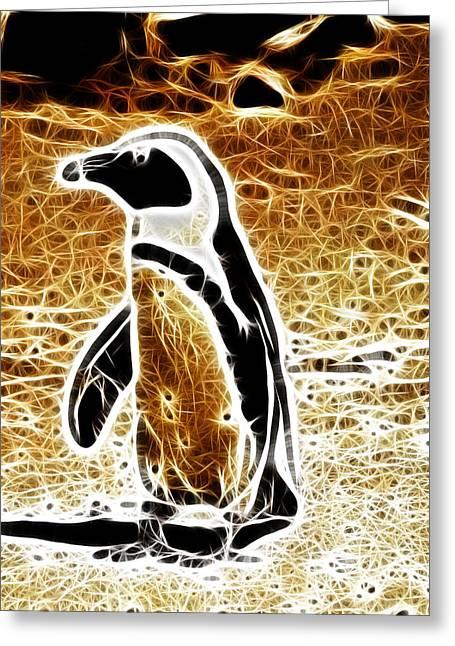 Jackass Greeting Cards - Jackass Penguin  Greeting Card by Douglas Barnard