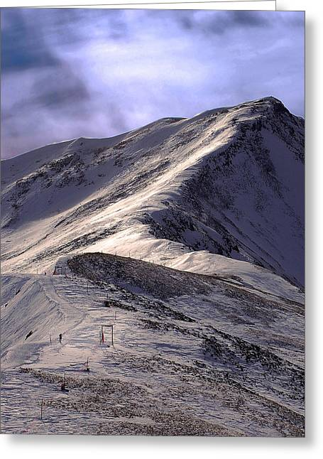Summit County Colorado Greeting Cards - Jacques Pique Greeting Card by Kevin Munro