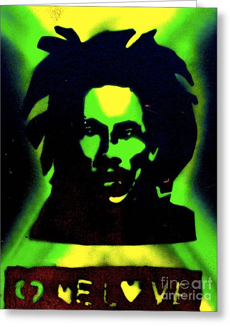 First Amendment Greeting Cards - Jamaica 1 Love Greeting Card by Tony B Conscious
