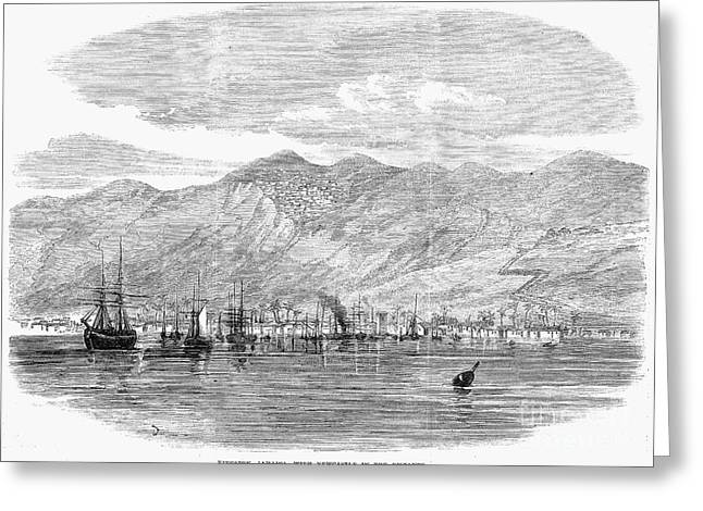 Kingston Greeting Cards - Jamaica: Kingston, 1865 Greeting Card by Granger