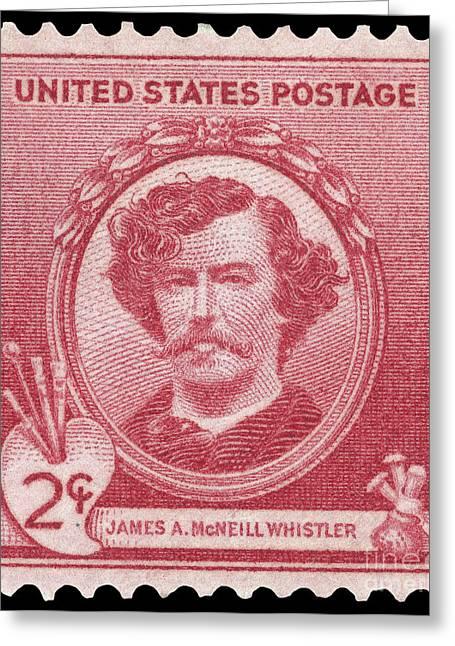 James Abbott Mcneill Whistler Greeting Cards - JAMES A. McNEILL WHISTLER Greeting Card by Granger