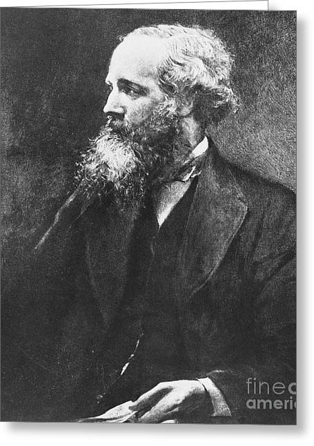 Maxwell Greeting Cards - James Clerk Maxwell, Scottish Physicist Greeting Card by Omikron