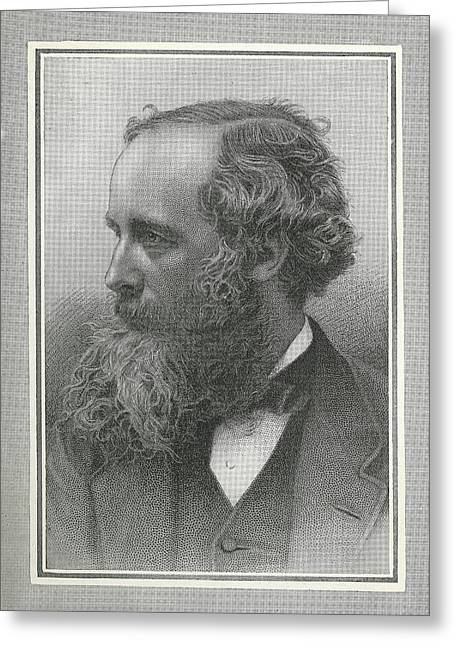 Maxwell Greeting Cards - James Clerk Maxwell, Scottish Physicist Greeting Card by Science, Industry & Business Librarynew York Public Library
