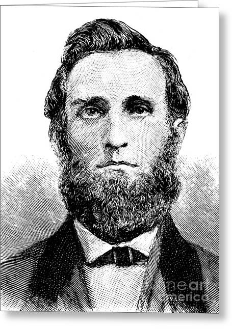 Yankees Greats Greeting Cards - JAMES J. ANDREWS (c1829-1862) Greeting Card by Granger