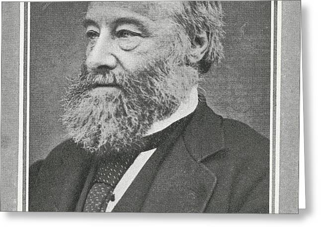 James Prescott Joule, British Physicist Greeting Card by Science, Industry & Business Librarynew York Public Library