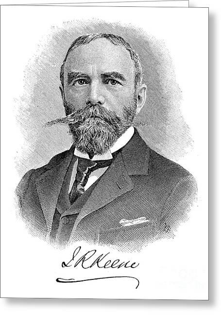 James Robert Keene Greeting Card by Granger
