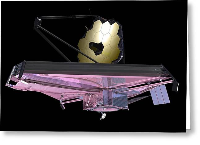 The Next Generation Greeting Cards - James Webb Space Telescope, Artwork Greeting Card by Nasa