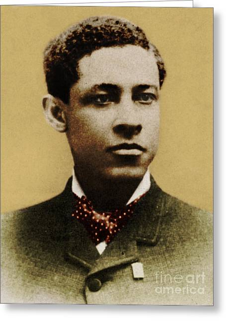 Jan Matzeliger, African-american Greeting Card by Science Source