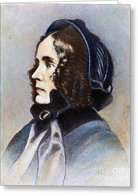 First-lady Greeting Cards - Jane M.a. Pierce (1806-1863) Greeting Card by Granger