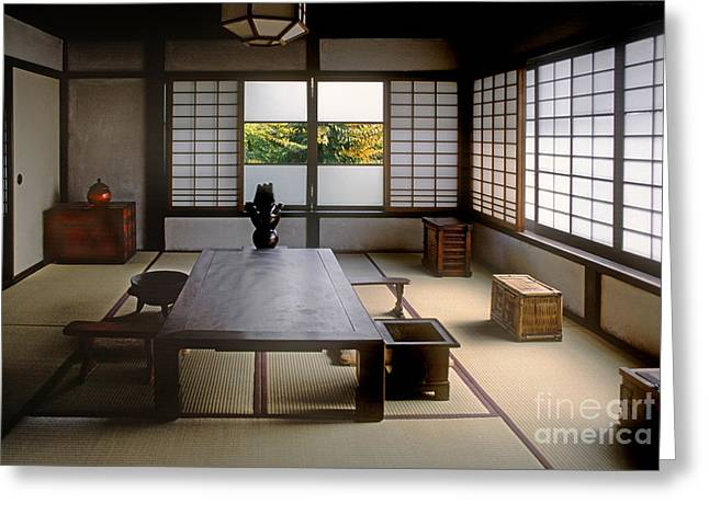 """""""japan House"""" Greeting Cards - Japan-36-2 Greeting Card by Craig Lovell"""