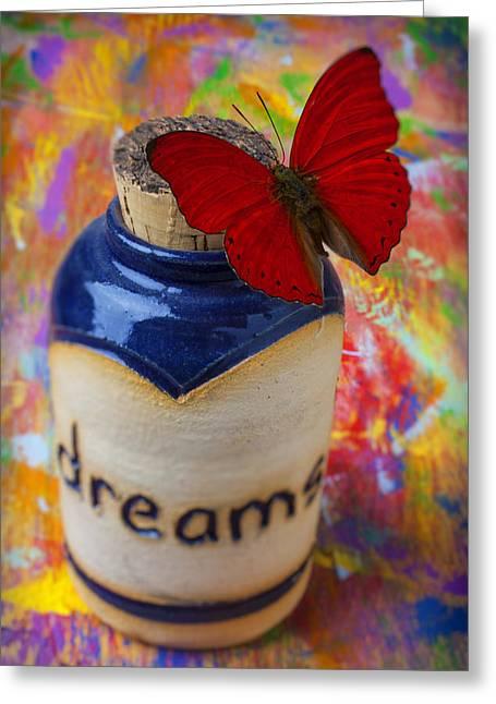 Jar Of Dreams Greeting Card by Garry Gay