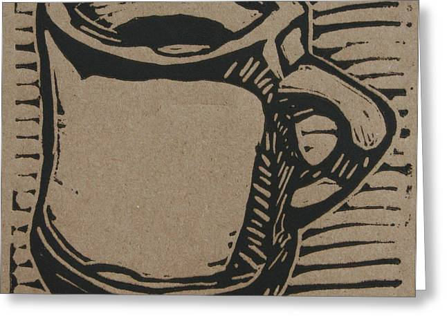 Java Greeting Card by William Cauthern