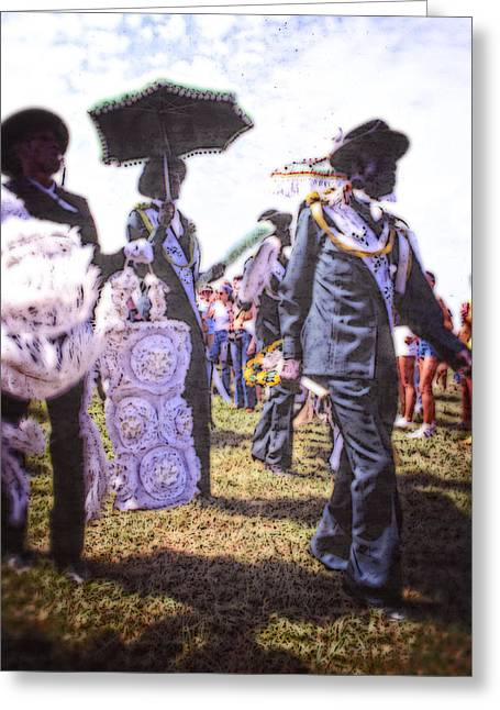 Jazz Fest Nola 1979 Greeting Card by Federico Arce