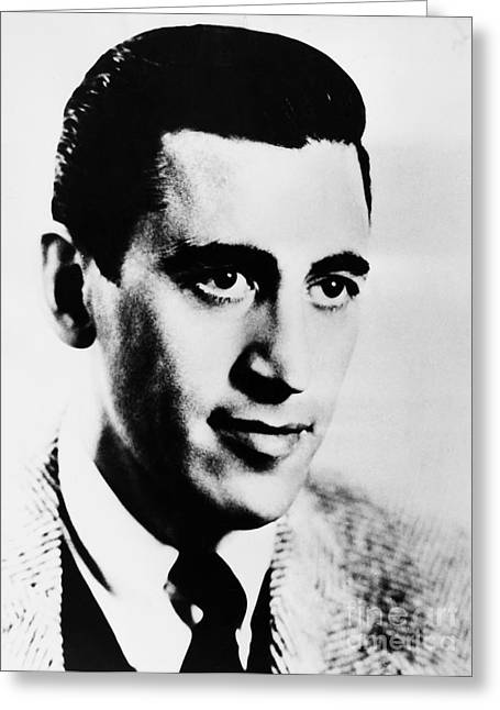 1951 Greeting Cards - J.d. Salinger (1919-2010) Greeting Card by Granger