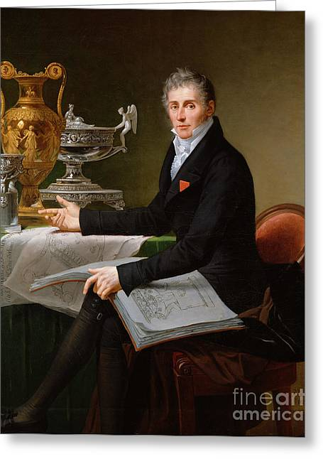 Metalwork Greeting Cards - Jean-Baptiste-Claude Odiot Greeting Card by Robert Lefevre