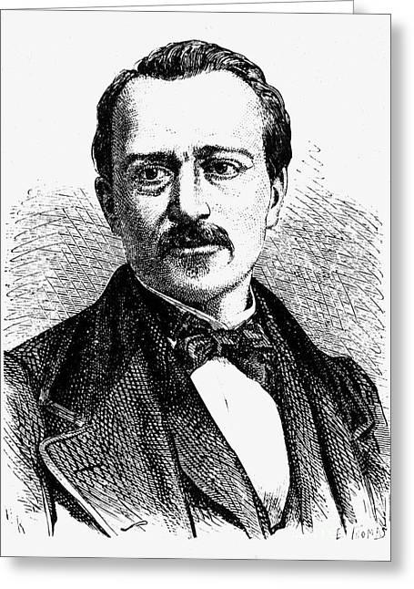 Jean Joseph Etienne Lenoir Greeting Card by Granger