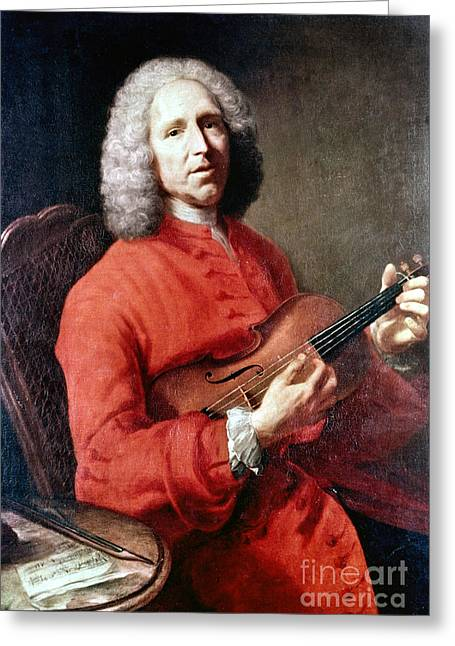 Chardin Greeting Cards - Jean Philippe Rameau Greeting Card by Granger