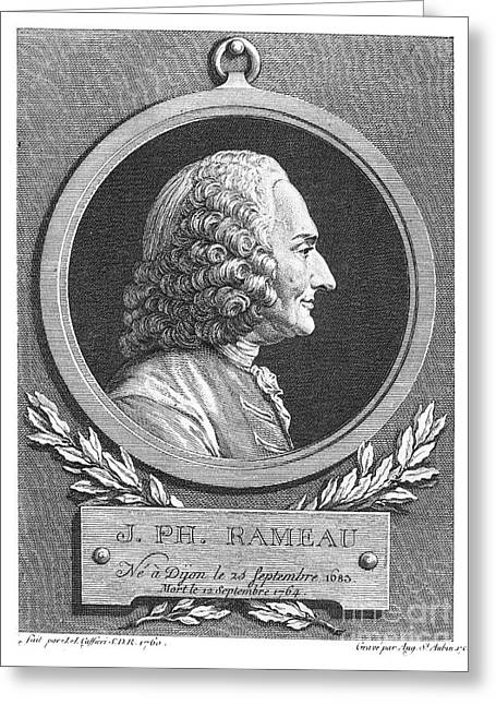 18th Century Greeting Cards - Jean-phillippe Rameau Greeting Card by Granger