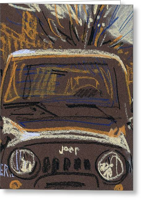 Jeeps Greeting Cards - Jeep Greeting Card by Donald Maier