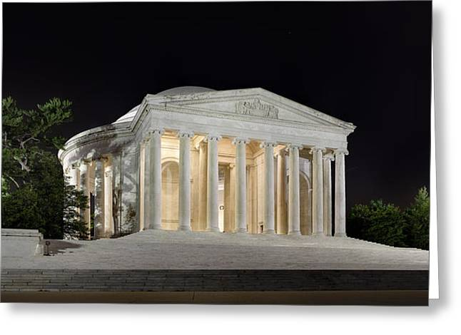 Jefferson Memorial Greeting Card by Metro DC Photography