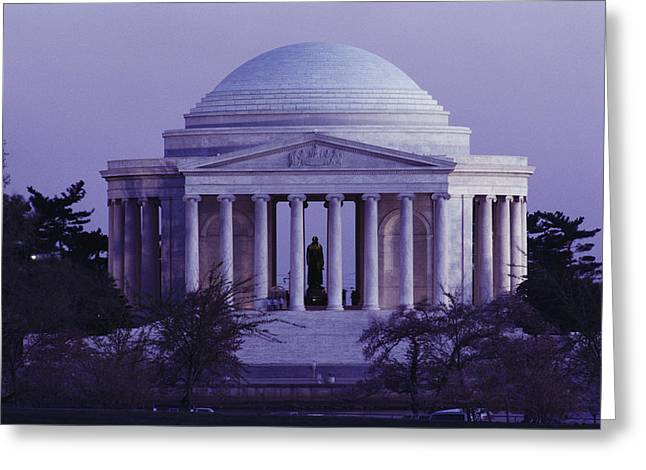Art Of Building Greeting Cards - Jefferson Memorial, Washington, D.c Greeting Card by Medford Taylor