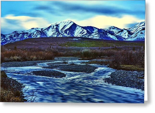 Back Country Greeting Cards - Jenny Creek Dawn Greeting Card by Rick Berk