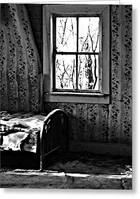 Edmonton Photographer Greeting Cards - Jennys Room Greeting Card by Jerry Cordeiro