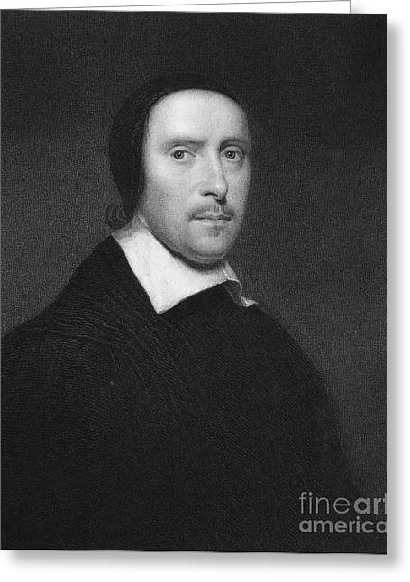 Jeremy Greeting Cards - Jeremy Taylor (1613-1667) Greeting Card by Granger