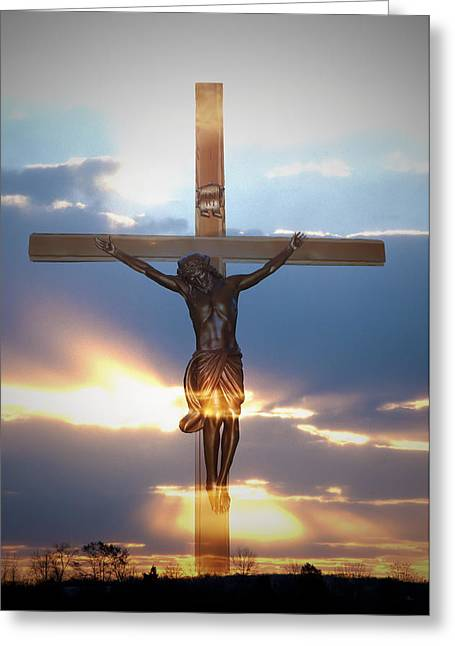 Lent Greeting Cards - Jesus Greeting Card by Bill Cannon
