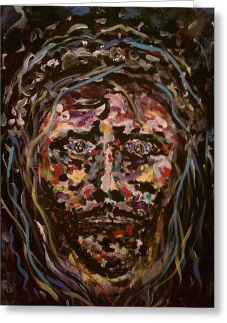Jesus Christ Greeting Card by David Nagel